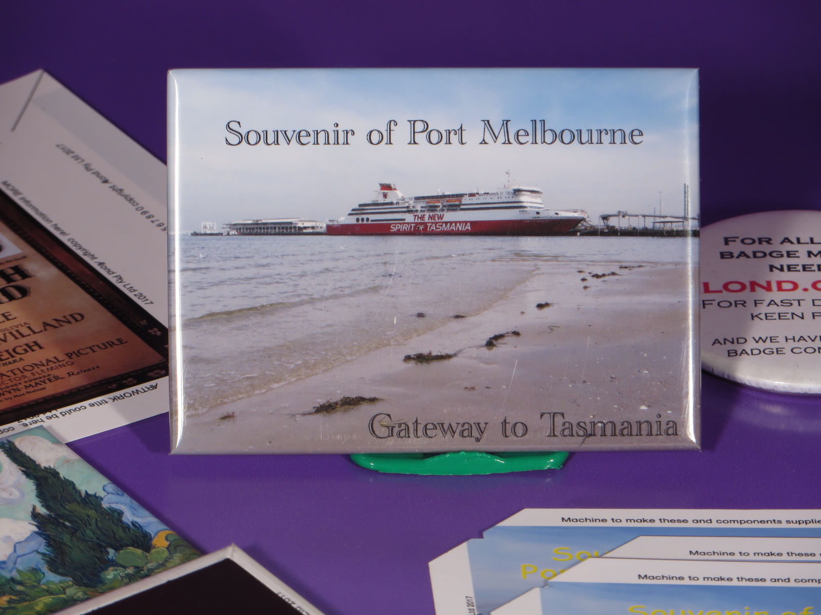 fridge magnets sold by museums and art galleries throughout the world