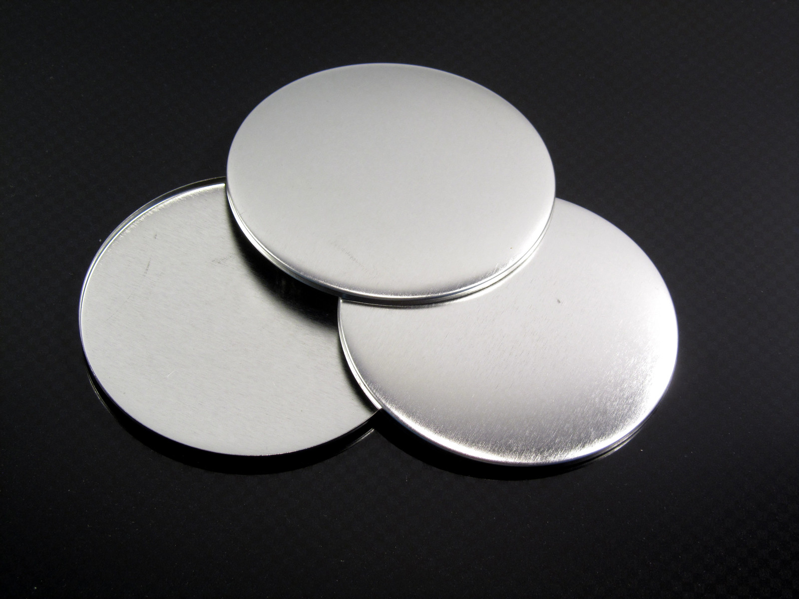 75 mm badge domes, otherwise known as shells, ideal if you need some extra