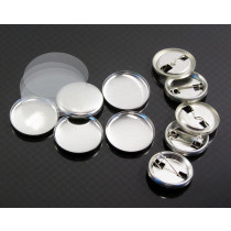 Tecre compatible 1 inch or 25mm badge components, now available in Australia