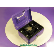 Cashbox suitable for badge making stall