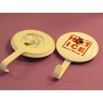 Use these badges on any smooth surface, make sure you can always find your keys!