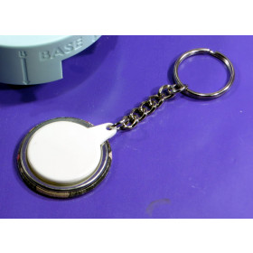 50 X MEDIUM BUTTON SIZE Keyring Swivel BUTTON REFILL WE R MEMORY KEEPERS™ BUTTON COMPATIBLE