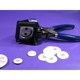 Small size CUTTER for pin badge pin-button artwork We R Memory Keepers™ compatible