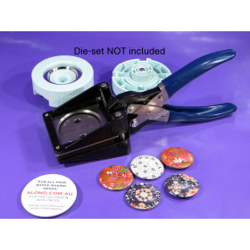 Medium size CUTTER for pin badge pin-button artwork We R Memory Keepers™ compatible