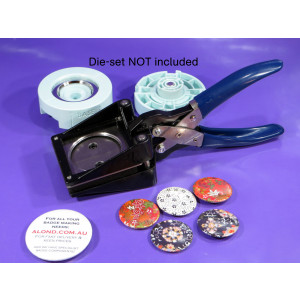 Button badge paper cutter suitable for We R Memory Keepers™ badges