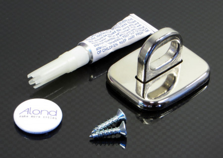 Universal Security Screw-on Glue-on Badge Maker Anchor Point